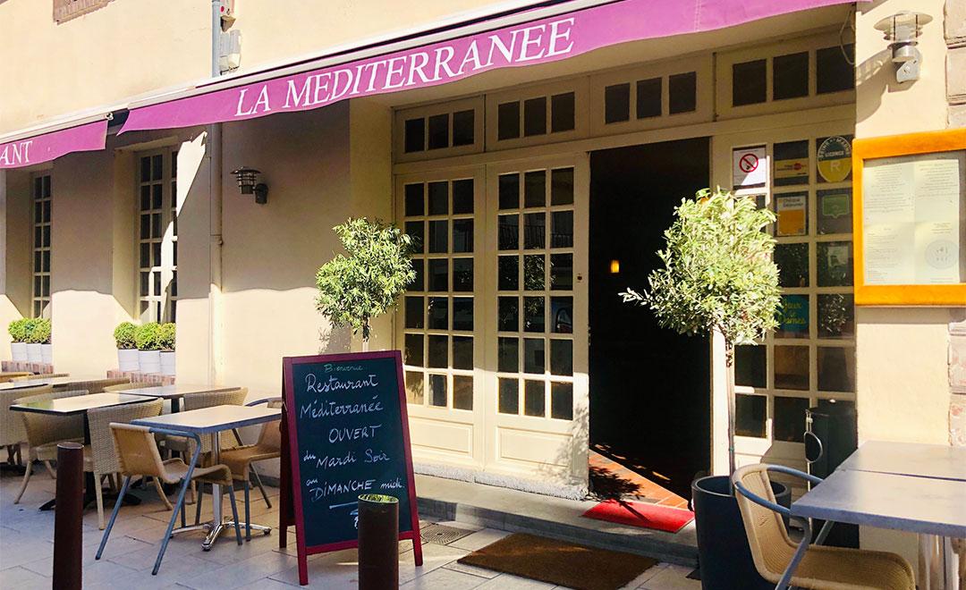 Restaurant terrasse extérieure