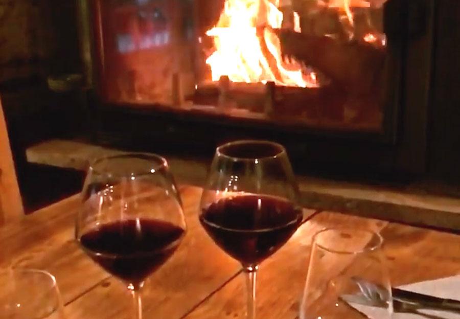 vin au coin du feu