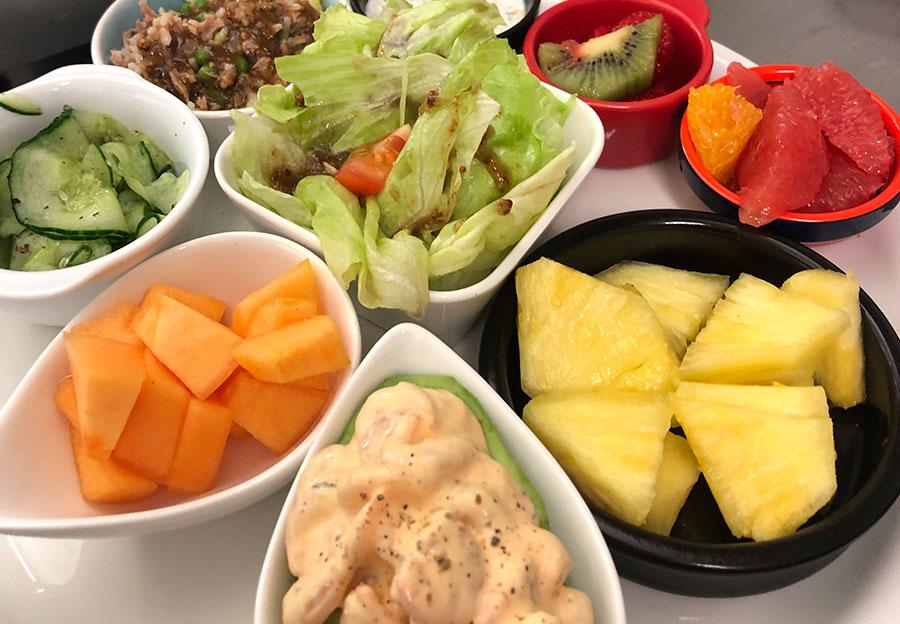 Assiette de saison à partager