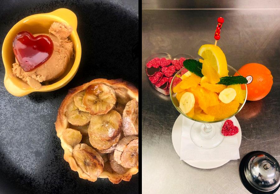 La nature : dessert et cocktail maison